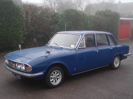 Alan and Val Carter's 1972 Triumph 2000 saloon