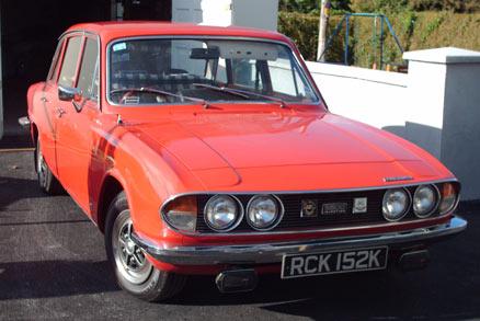 1972 Triumph 2.5 P.I.