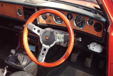 1972 Triumph 2.5 P.I. Mk II interior