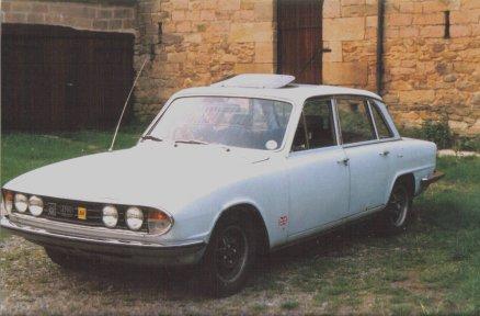 'Facelift' Triumph 2500 P.I. Saloon