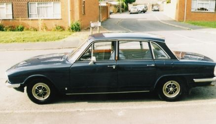 Mark II Triumph 2.5 P.I.