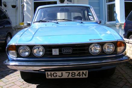 1975 Mk II Triumph 2000