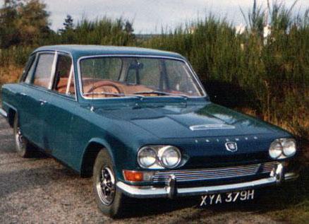 1969 Triumph 2.5 P.I. Mk I