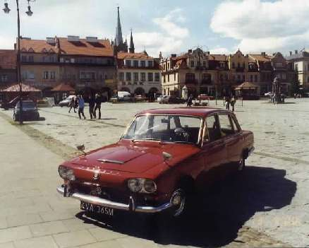 Triumph 2000 Mark I in Poland