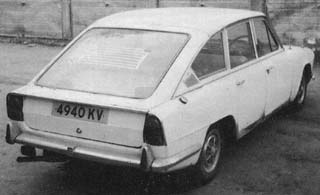 Prototype Triumph 2000 Fastback