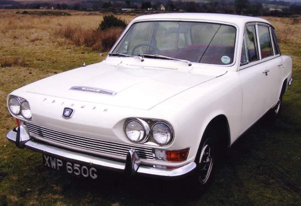 The Triumph 2.5PI saloon
