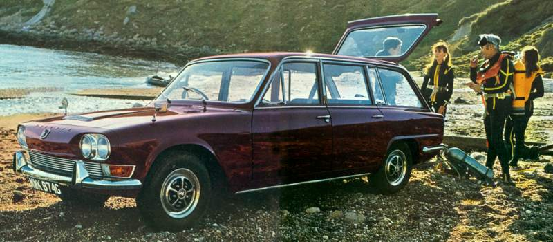 The Triumph 2.5PI Estate