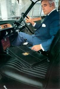 1969 Triumph 2.5PI Interior