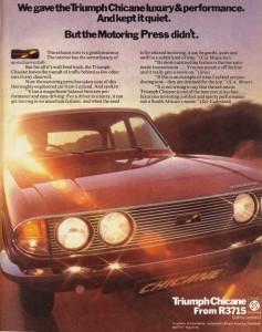 1974 Triumph Chicane