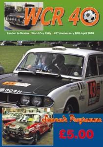 WCR40 Souvenir Brochure