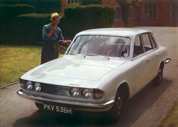 The Triumph 2000 Mark 2