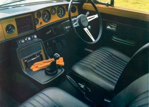 Triumph 2.5 PI Mark 2 Interior