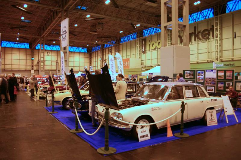 The Triumph 2000 Register Stand at the 2009 Classic Motor Show, the NEC, Birmingham