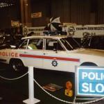 A police Triumph 2500 at the NEC, circa 1989