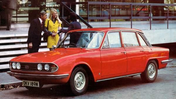 Rachat Triumph 2500 – Reprise de voiture Enlèvement d'épave gratuit
