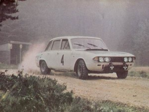 WRX 902H en route to winning the 1970 Scottish Rally