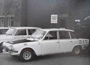 Mark 1 Triumph 2.5 PI outside Special Tuning in Abingdon