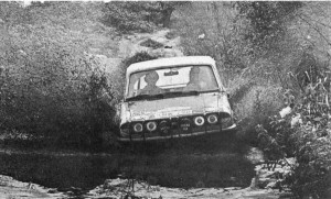 Brian Culcheth on the 1972 East African Safari Rally