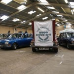 The Triumph 2000 Register puts on an award winning display at Stoneleigh