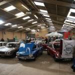 Triumph 2000 Register gets 'Best Club Stand' award at Stoneleigh