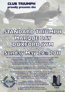 Standard Triumph Marque Day, Duxford
