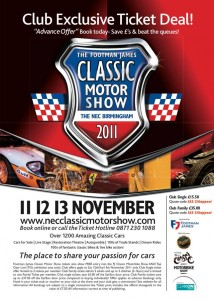 The Classic Motor Show 2011