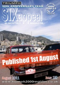 SIXappeal 180 August 2011