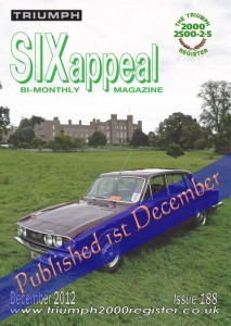 SIXappeal magazine, December 2012