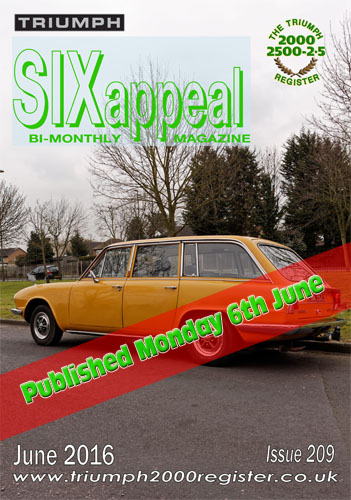 SIXappeal 209 June 2016 cover