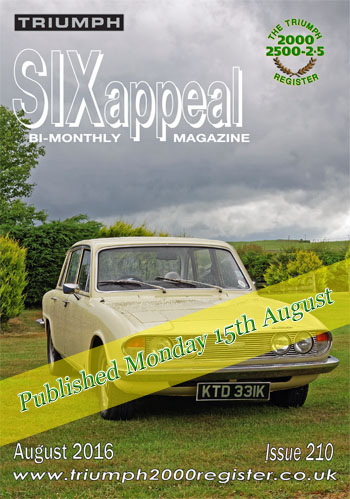 SIXappeal 210 August 2016 cover