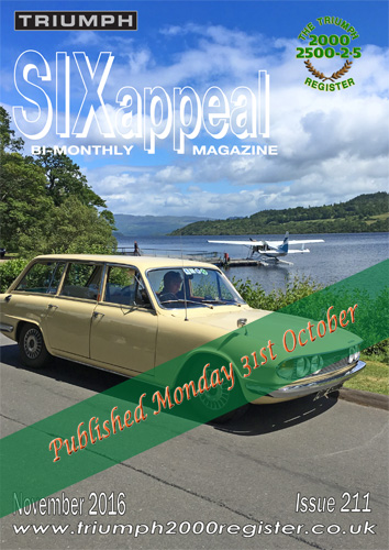 SIXappeal 211 November 2016 cover