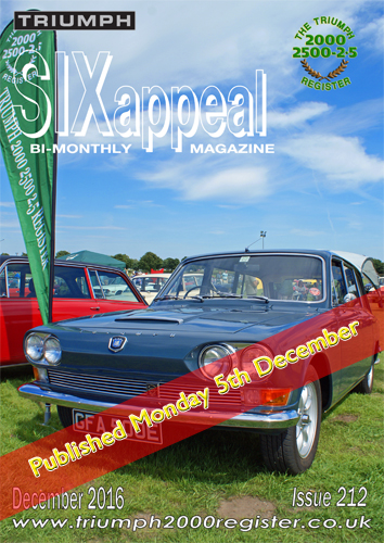 SIXappeal 212 December 2016 cover