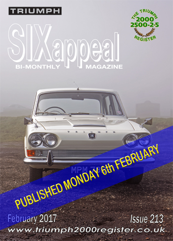 SIXappeal 213 February 2017 cover
